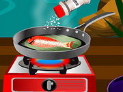 Play Delicious Grilled Fish game