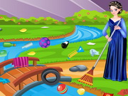 Play Anna Cleaning Environment game