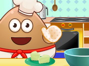 Play Pou Cooking Raffaello game