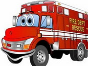 Play Fire Truck Memory game