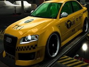 Play Audi Taxi Hidden Letters game