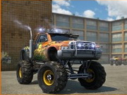 Play Monster Trucks 3D Parking game