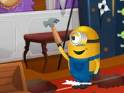 Play Minions House Makeover game