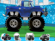 Play Monster Truck Wash And Repair game