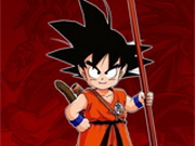 Spelen Dragon Ball Goku Fierce Fighting spel