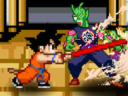 играя Dragon Ball Goku Fighting игра