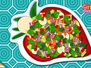Cooking Vegetable Salad Game