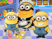 Play Minions Shopping Mania game