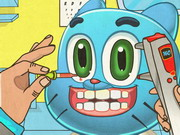 Gumball Eye Doctor Game