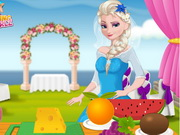 Play Elsa Wedding Dish game