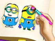 Play Minions Coloring Book game