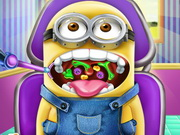 Play Minion Throat Doctor game