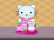 Hello Kitty Chef Ice Cream Maker Game