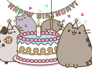 Play Pusheen's Birthday Party game