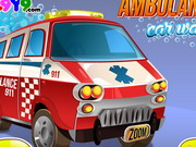Ambulance Car Wash Game