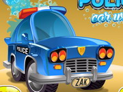 Police Car Wash Game
