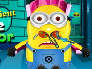 Play Minion Patient Nose Doctor game