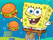 Spongebob Cannon Hamburgerun Game
