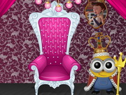 King Minion Royal Room Game