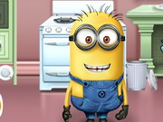 Minion Kitchen Makeover Game