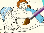 Play Frozen Coloring Book game