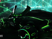 Racing Neon City Game