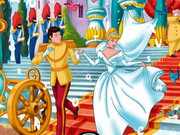 Princess Cinderella Hidden Alphabets Game