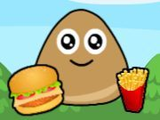 Pou Food Hunt Game