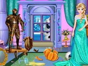 Elsa Royal Castle Makeover Game