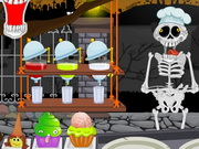 Hallowen Graveyard Restaurant Game