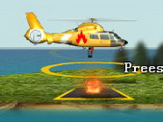 Play Fire Helicopter game