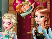 Frozen Anna Kiss Game
