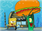 Sponge Bob And Krabsburger Secret Game