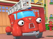 Fiona Fire Engine Puzzle Game