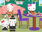 Hello Kitty Thanksgiving Party Decor Game