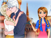 Play Frozen Perfect Kiss game