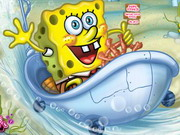 Play Spongebob's Bathtime Burnout 2 game