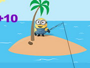 Play Minions Fishing Day game
