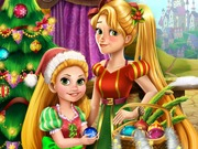 Play Rapunzel Mommy Christmas Tree game