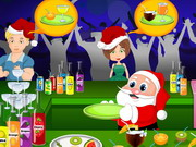 Play Santa Juice Party game
