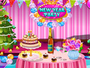 Play New Year Party Cleaning game