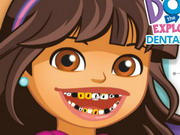 Dora The Explorer Dental Care Game
