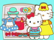 Play Hello Kitty And Mom Matching Outfits game