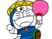 Play Doraemon Coloring Book game