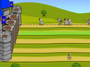 Play Knight Attack Castle Defense game
