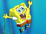 Play Spongebob Fly game