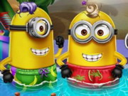 Play Minion Pool Party game
