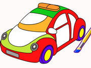 Play Cars Coloring Game game