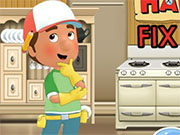Play Handy Manny Fix The House game