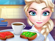 Play Elsa Restaurant Breakfast Management game
